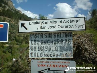 Ermita San Miguel Arcángel - Parque Natural de Cazorla; rutas a pie por madrid
